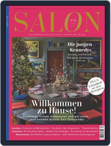 Salon (Digital) November 1st, 2017 Issue Cover