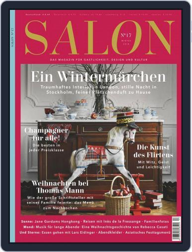 Salon (Digital) December 1st, 2018 Issue Cover