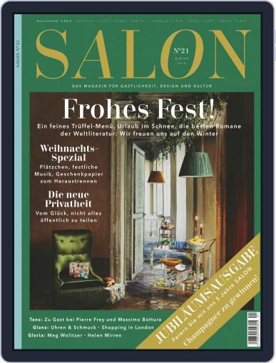 Salon (Digital) December 1st, 2019 Issue Cover