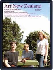 Art New Zealand (Digital) Subscription November 2nd, 2014 Issue