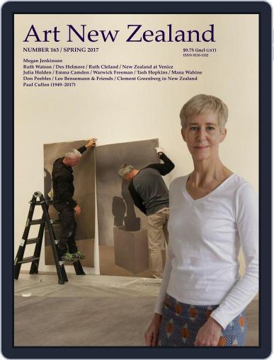 Art New Zealand September 1st, 2017 Digital Back Issue Cover