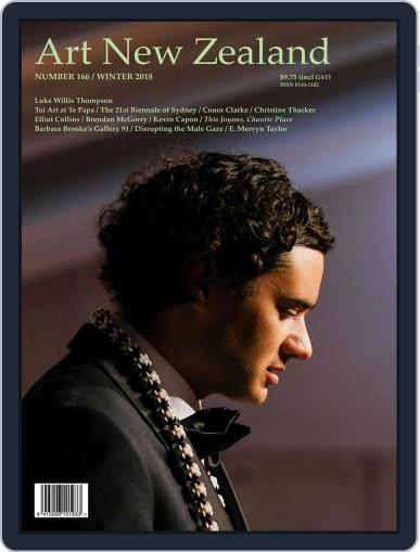 Art New Zealand June 1st, 2018 Digital Back Issue Cover