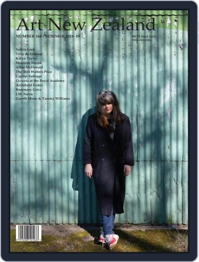 Art New Zealand December 1st, 2018 Digital Back Issue Cover
