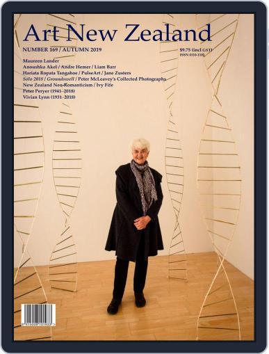 Art New Zealand February 1st, 2019 Digital Back Issue Cover