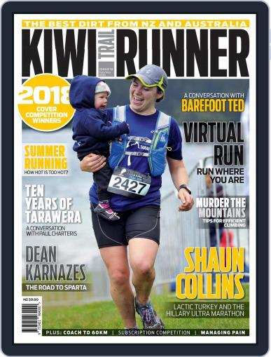 Kiwi Trail Runner February 1st, 2018 Digital Back Issue Cover