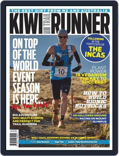 Kiwi Trail Runner October 1st, 2018 Digital Back Issue Cover