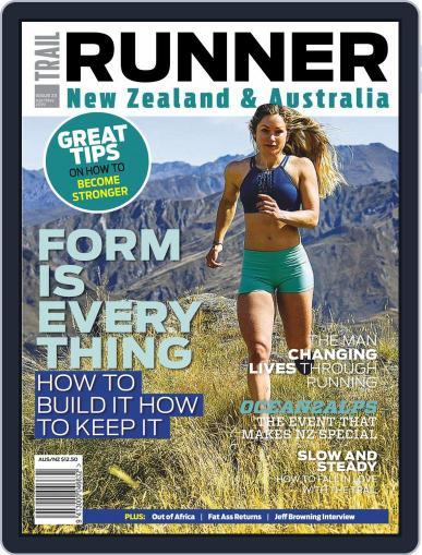 Kiwi Trail Runner April 1st, 2019 Digital Back Issue Cover
