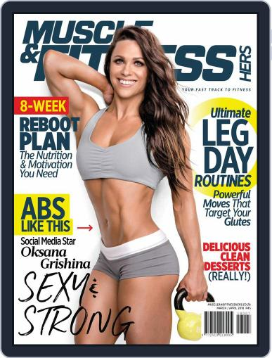 Muscle & Fitness Hers South Africa March 1st, 2018 Digital Back Issue Cover