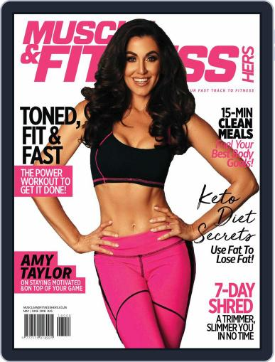Muscle & Fitness Hers South Africa May 1st, 2018 Digital Back Issue Cover