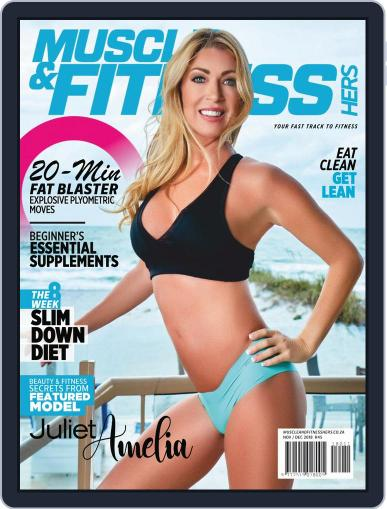 Muscle & Fitness Hers South Africa November 1st, 2018 Digital Back Issue Cover