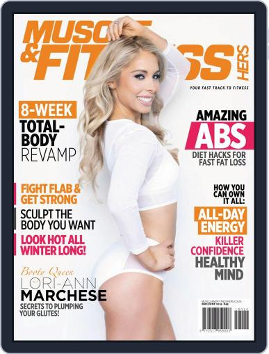 Muscle & Fitness Hers South Africa May 1st, 2019 Digital Back Issue Cover
