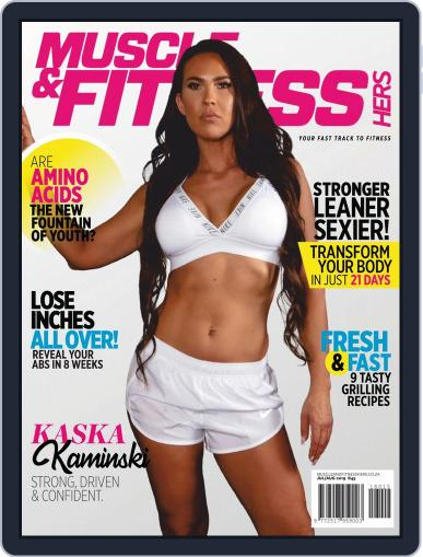Muscle & Fitness Hers South Africa July 1st, 2019 Digital Back Issue Cover