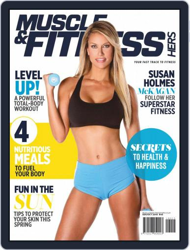 Muscle & Fitness Hers South Africa September 1st, 2019 Digital Back Issue Cover