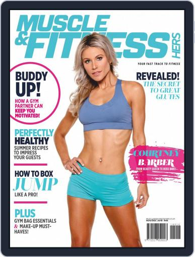 Muscle & Fitness Hers South Africa November 1st, 2019 Digital Back Issue Cover