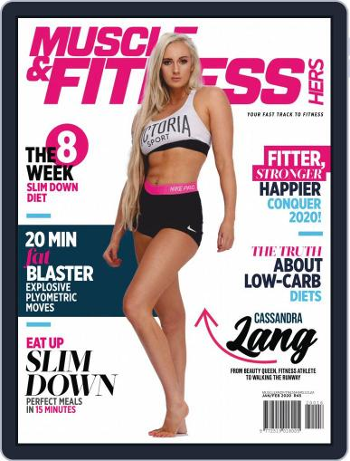 Muscle & Fitness Hers South Africa January 1st, 2020 Digital Back Issue Cover
