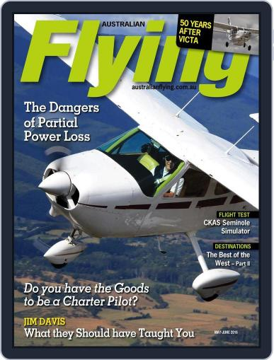 Australian Flying (Digital) April 11th, 2016 Issue Cover