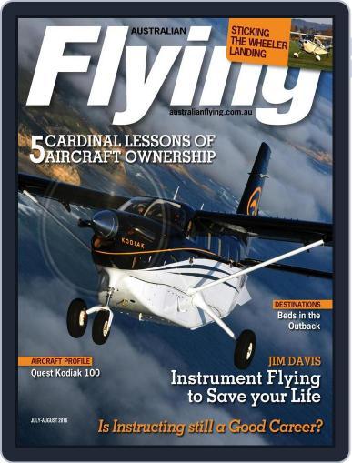 Australian Flying (Digital) June 9th, 2016 Issue Cover