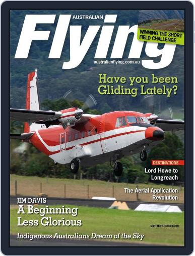 Australian Flying (Digital) August 7th, 2016 Issue Cover