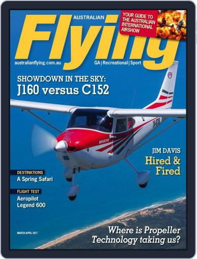 Australian Flying (Digital) March 1st, 2017 Issue Cover