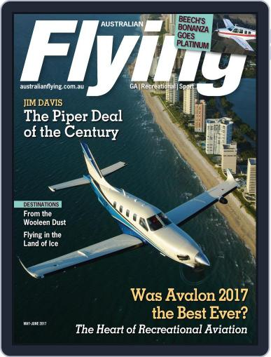 Australian Flying (Digital) May 1st, 2017 Issue Cover