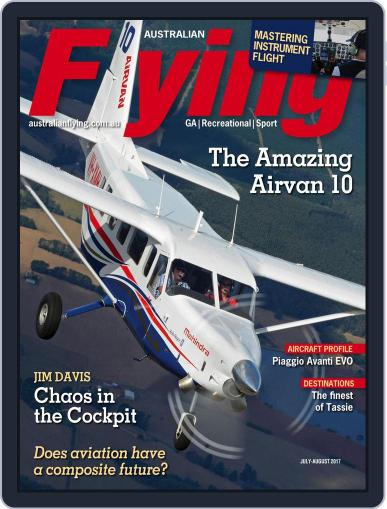 Australian Flying (Digital) July 1st, 2017 Issue Cover