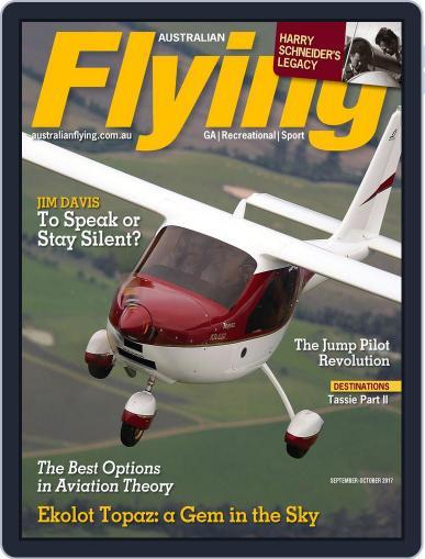 Australian Flying (Digital) September 1st, 2017 Issue Cover