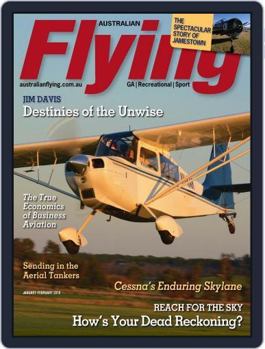 Australian Flying (Digital) January 1st, 2018 Issue Cover