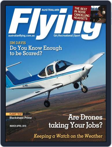 Australian Flying (Digital) March 1st, 2018 Issue Cover