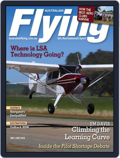 Australian Flying (Digital) May 1st, 2018 Issue Cover