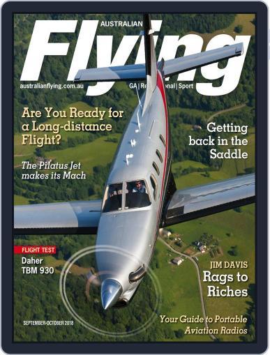 Australian Flying (Digital) September 1st, 2018 Issue Cover