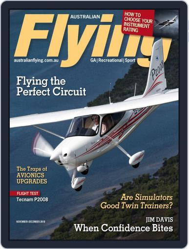 Australian Flying (Digital) November 1st, 2018 Issue Cover