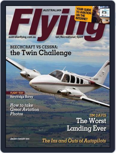 Australian Flying (Digital) January 1st, 2019 Issue Cover