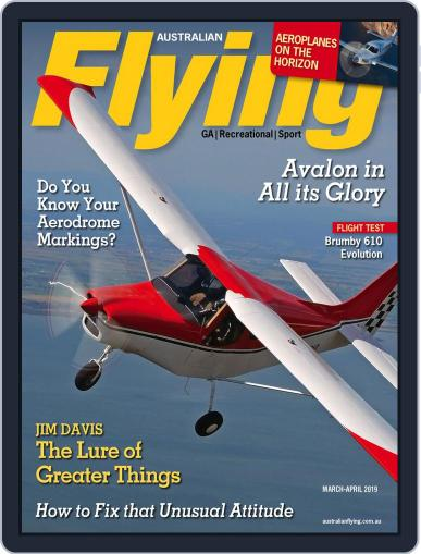 Australian Flying (Digital) March 1st, 2019 Issue Cover