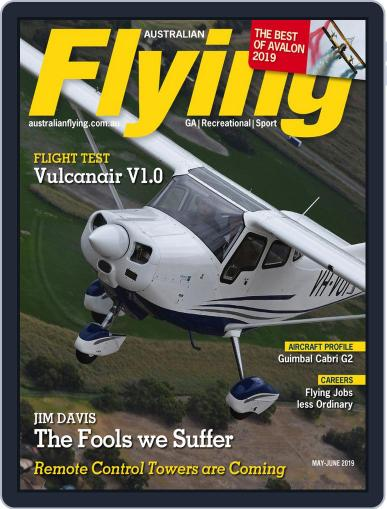 Australian Flying (Digital) May 1st, 2019 Issue Cover