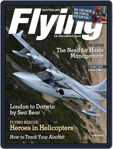 Australian Flying (Digital) March 1st, 2020 Issue Cover