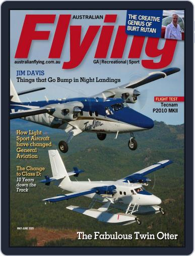 Australian Flying (Digital) May 1st, 2020 Issue Cover