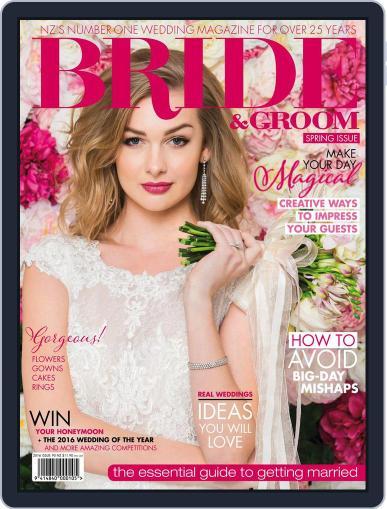 Bride & Groom (Digital) October 1st, 2016 Issue Cover