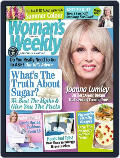 Woman's Weekly March 4th, 2014 Digital Back Issue Cover