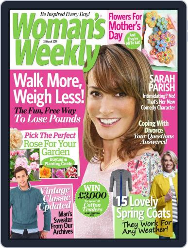 Woman's Weekly March 18th, 2014 Digital Back Issue Cover