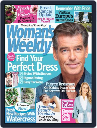 Woman's Weekly March 25th, 2014 Digital Back Issue Cover