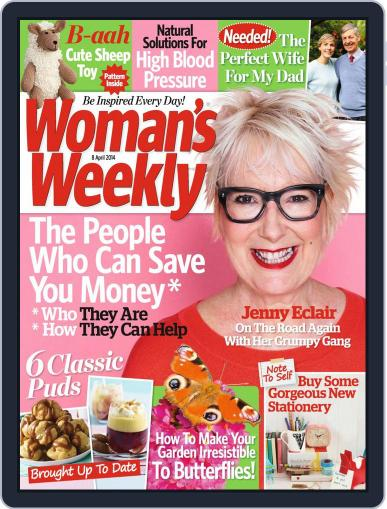 Woman's Weekly April 1st, 2014 Digital Back Issue Cover