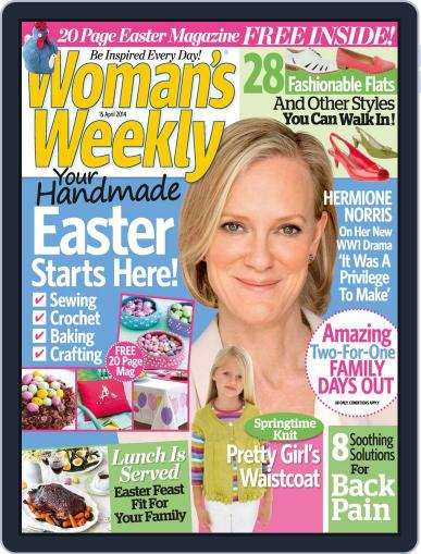 Woman's Weekly April 8th, 2014 Digital Back Issue Cover