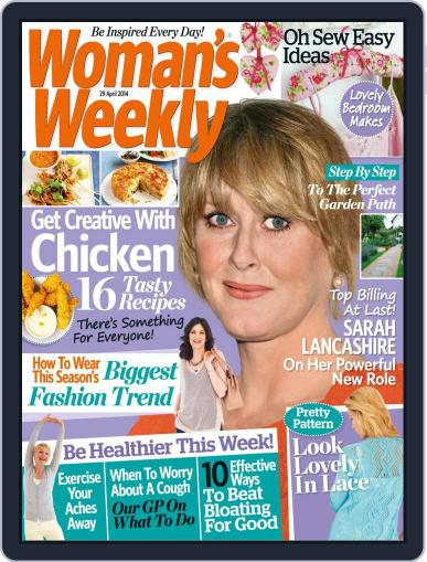 Woman's Weekly April 22nd, 2014 Digital Back Issue Cover