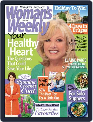 Woman's Weekly May 6th, 2014 Digital Back Issue Cover