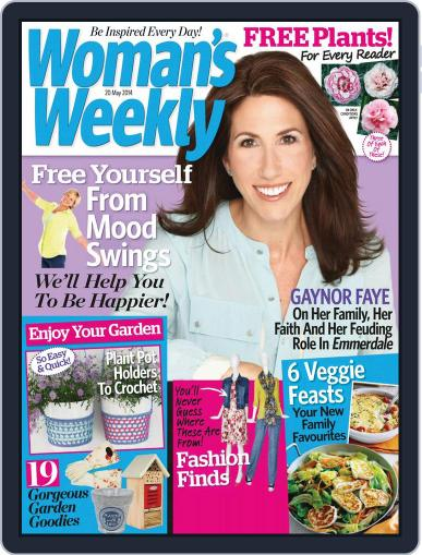 Woman's Weekly May 13th, 2014 Digital Back Issue Cover
