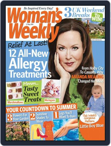 Woman's Weekly May 20th, 2014 Digital Back Issue Cover