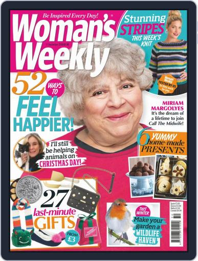 Woman's Weekly December 11th, 2018 Digital Back Issue Cover