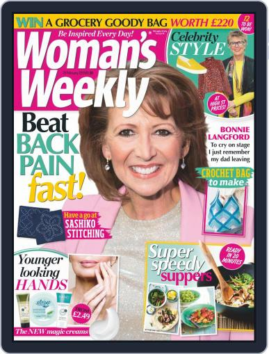 Woman's Weekly (Digital) February 19th, 2019 Issue Cover