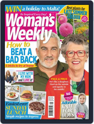 Woman's Weekly August 27th, 2019 Digital Back Issue Cover