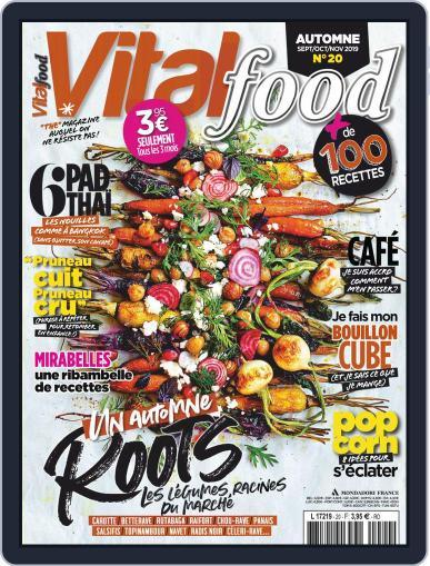 Vital Food (Digital) September 1st, 2019 Issue Cover